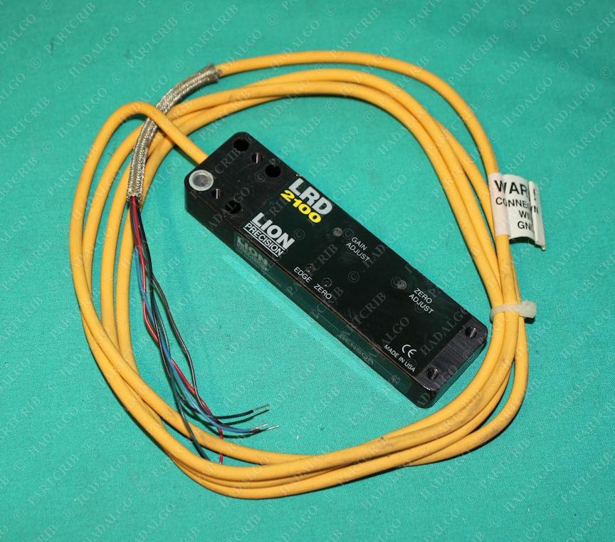 Lion Precision, LRD 2100, Label Sensor Dwyer