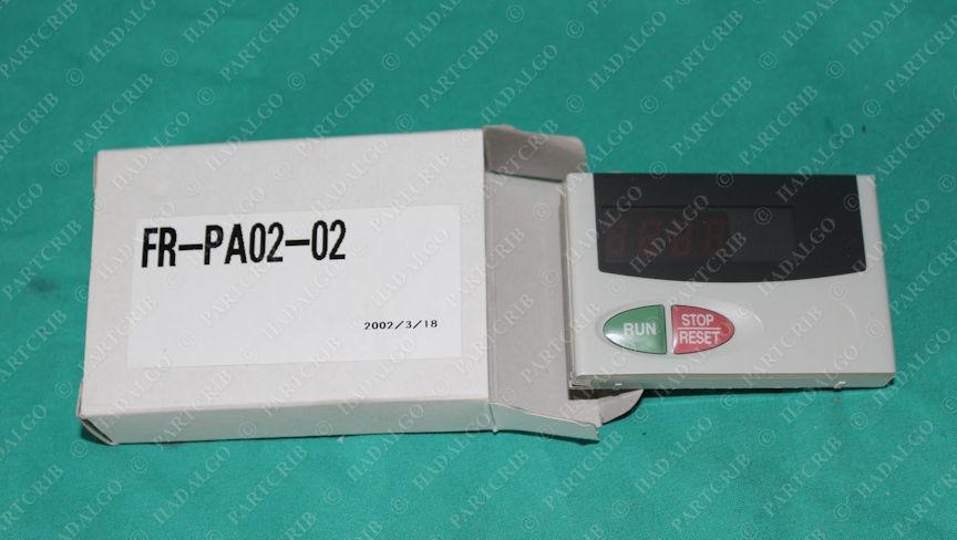 Mitsubishi, FR-PA02-02, Control Panel VFD Motor Control Keypad
