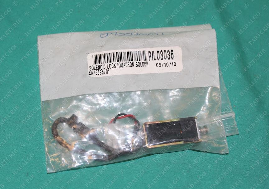 EA/5596/01, BLP 04/08, 67 120 611 740, Quadron Solder Solenoid Lock Plunger