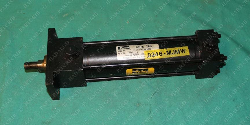 Parker, 01.50 J2ANU14A 5.000, Series 2AN Pneumatic Hydraulic Cylinder