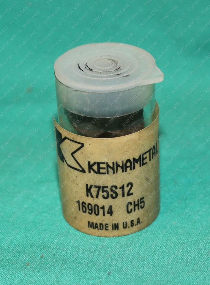 Kennametal, K75S12, 169014 CH5, Carbide Insert