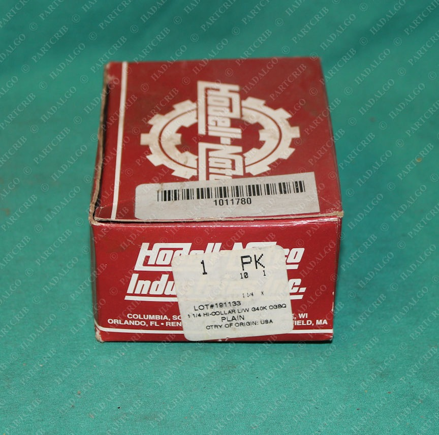 "Hodell Natco, DCL125N0000P, 1-1/4 Hi Collar Locking Lock Washer 1.25"" L/W G40K CGBQ Plain pack of 10"