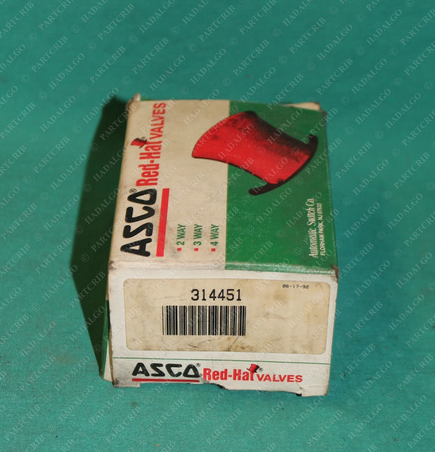 Asco Red Hat, 314451, Solenoid Valve Rebuild Repair Kit