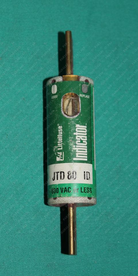 Littelfuse, JTD 80, JTD080, Limiting Time Delay Fuse Cooper 600VAC 80A