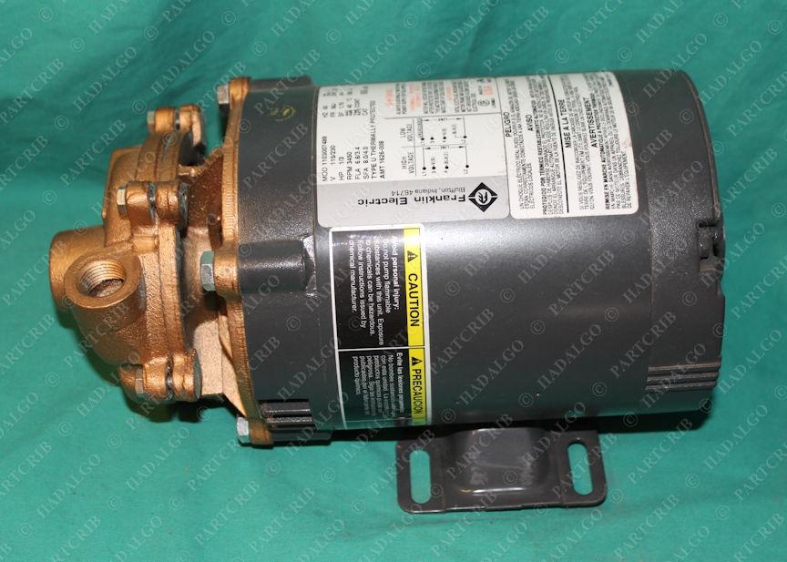 AMT, 3680-97, 1626-008, Franklin Electric 1103007488 Pump Motor 1/3hp 1p 115v 230v
