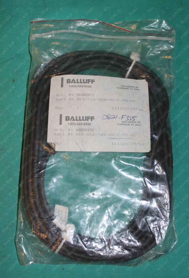 Balluff, BES-516-360-A0-C-PU-05, 00030528732, Inductive Sensor