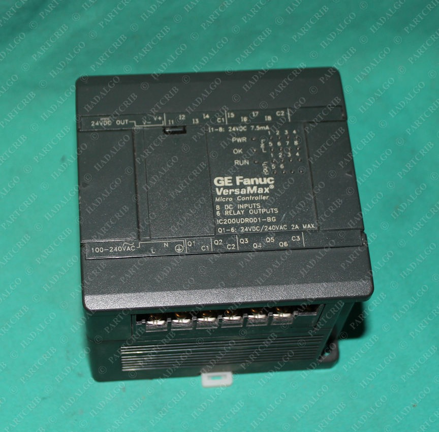 Fanuc, IC200UDR001-BG, GE VersaMax Micro Controller PLC