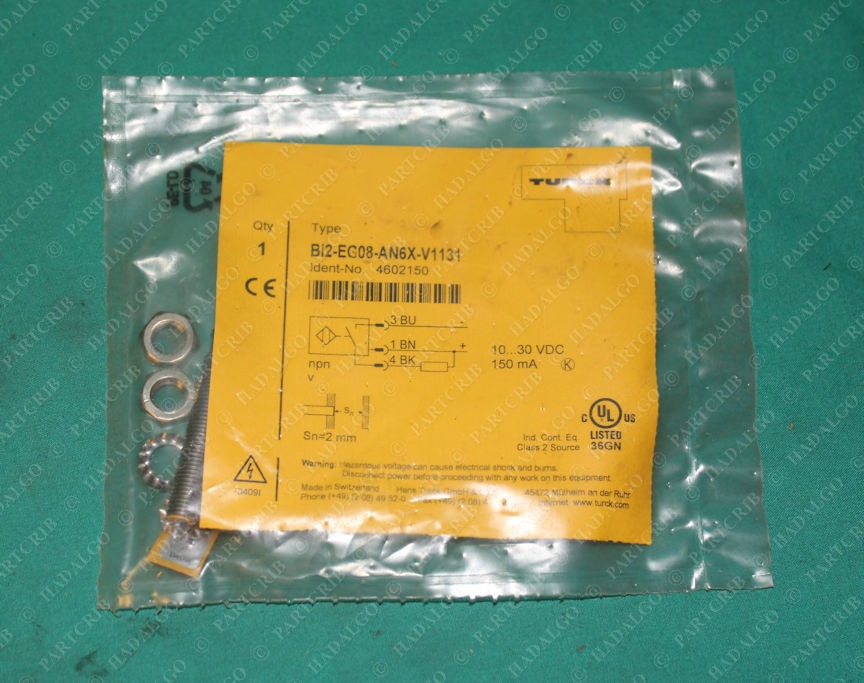 Turck, Bi2-EG08-AN6X-V1131, 4602150, Proximity Sensor Switch OEM Original Switzerland