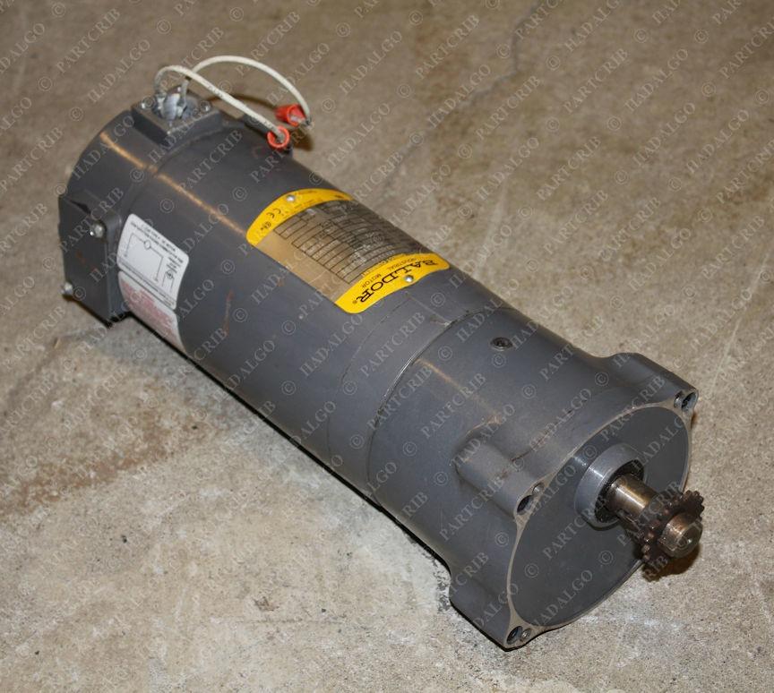 Baldor, GPP3340, 33-2326Z146G1K3, Gearmotor 90vdc