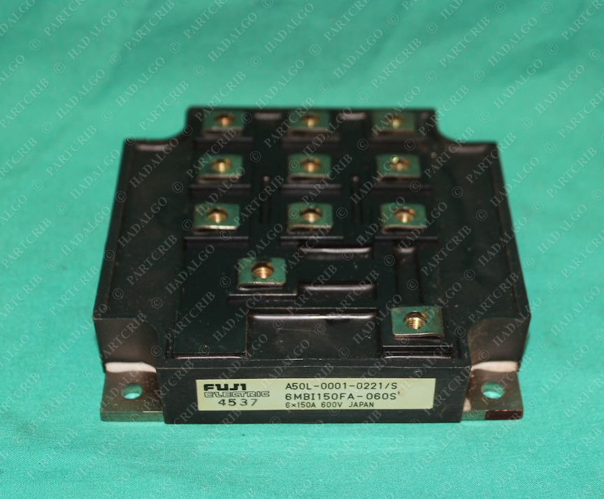 Fuji Electric, A50L-0001--0221/S, 6MBI150FA-060S, Power Module IGBT Silicon OEM Original Japan