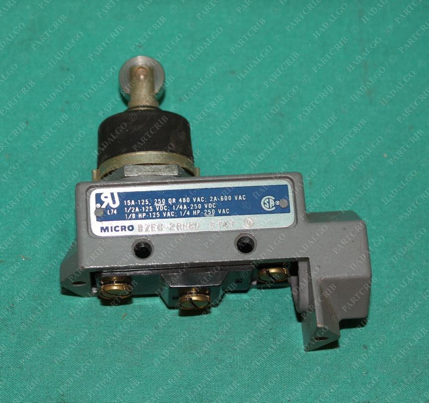 Honeywell, BZE6-2RN80, Micro Switch Limit Switch Roller Type