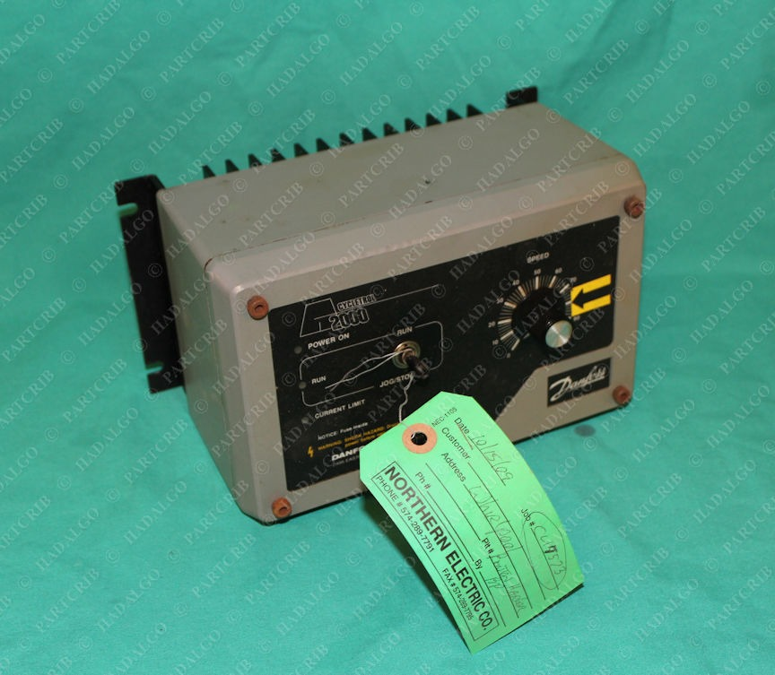 Danfoss, C11500, Cycletrol 2000 DC Motor Controller