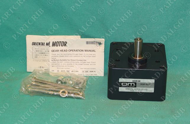 ORIENTAL MOTOR 6GK5K NEW IN BOX 6GK5K