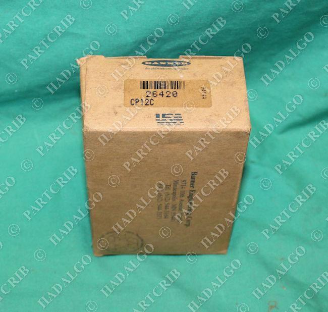 Banner, CP12C, 26420, Maxi Amp Power Supply AC DC Module NEW