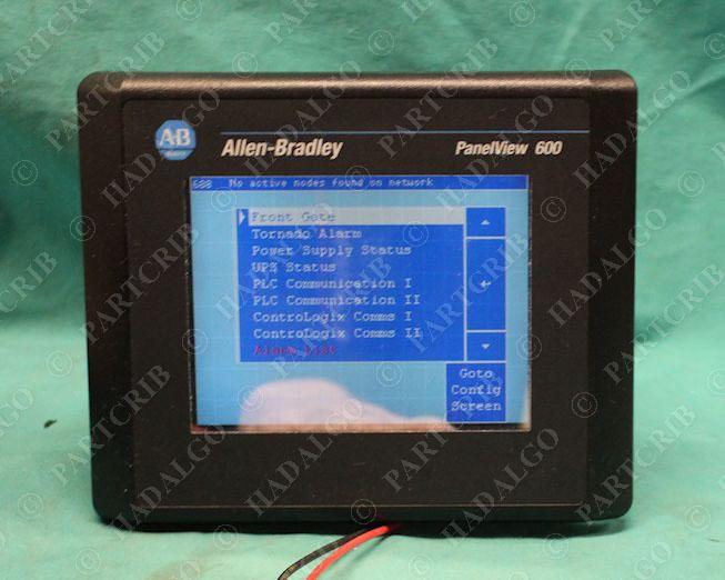 Allen Bradley 2711-T6C8L1X Panelview 600 Ser B Rev D FRN 4 46