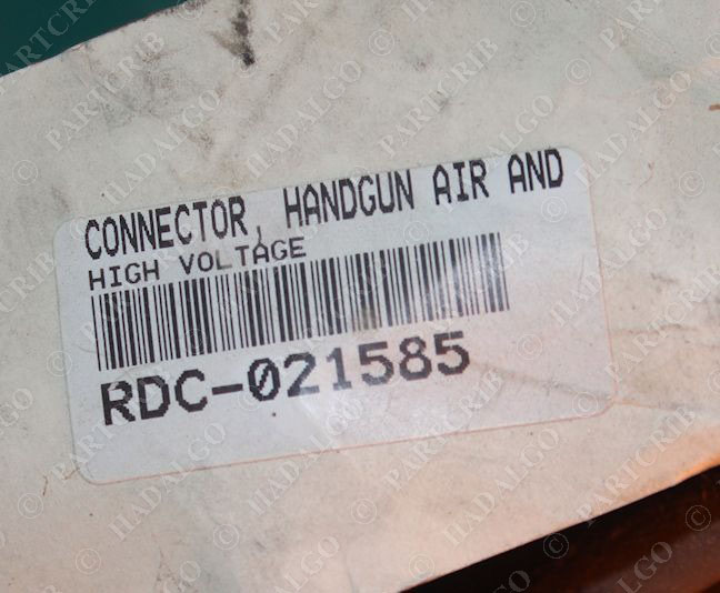 Sames 458459 Handgun Air and Connector High Voltage Anti Static Powder Coat gun