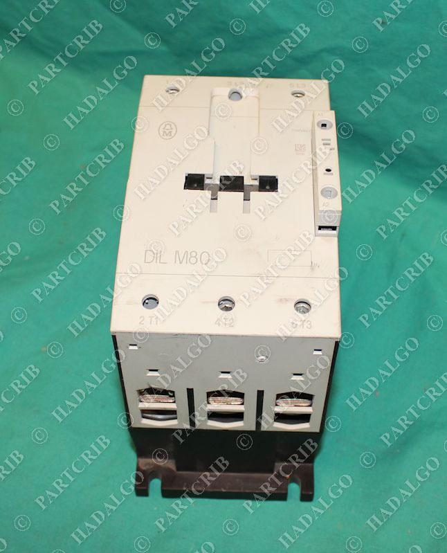 Klockner Moeller, DILM80, DIL M80, Contactor Starter 110/120V 50/60Hz NEW