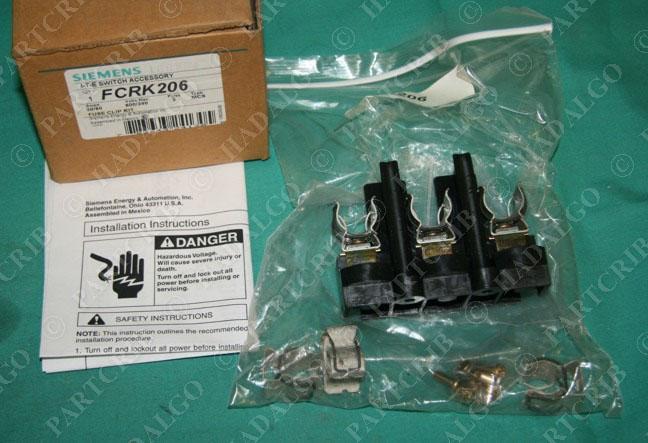 New Siemens FCRK206 Fuse Kit
