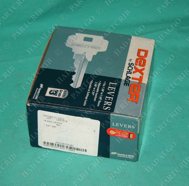 Dexter Schlage J40 Las 619 Privacy Lever Lock 16 042 Latch