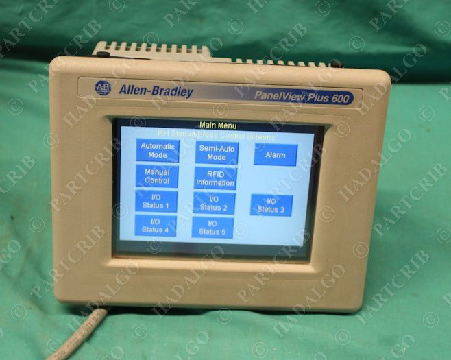 allen bradley 2711p t6c20d panelview plus 600 ser b rev a rh partcrib com panelview plus 600 manual español panelview plus 600 selection guide