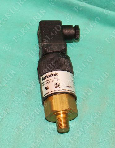 Barksdale 96211-BB5-T2 Pressure Switch 70-250psi 5Amp 125/250VAC NEW