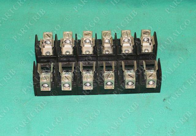 Gould Shawmut Ferraz  20300 Fuse Block Holder 250V 30A 6 six NEW