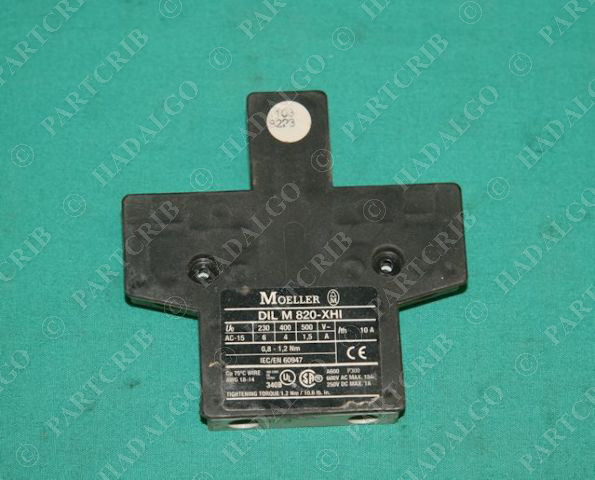 Moeller, DILM820-XHI,  DIL M 820-XHI, Auxiliary Contact NEW
