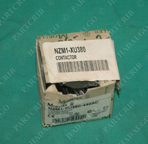 Moeller, NZM1-XU380, Undervoltage Switch Release 380-440VAC NEW