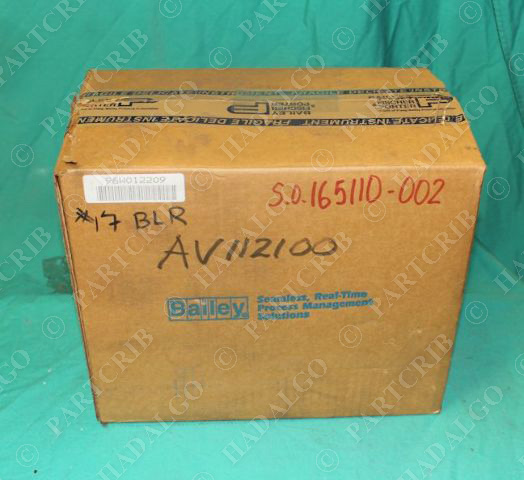 Bailey, AV1121000, Pneumatic Valve Positioner ABB Parajust 150psi NEW
