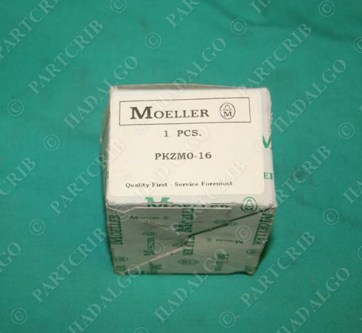 Moeller, PKZMO-16, PKZM0, Klockner Manual Motor Protector Overload NEW