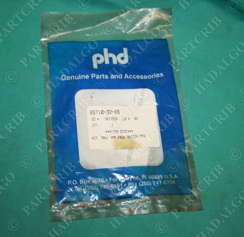 Phd,  65710-32-65, 4mm Proximity Switch Mounting Kit Cylinder NEW