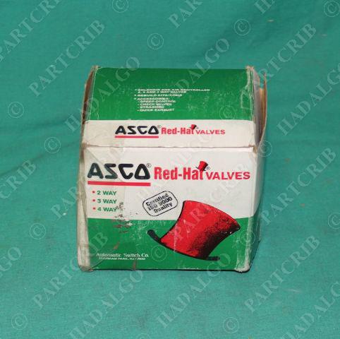 Asco Red-Hat, 8210G2, Solenoid Valve NEW