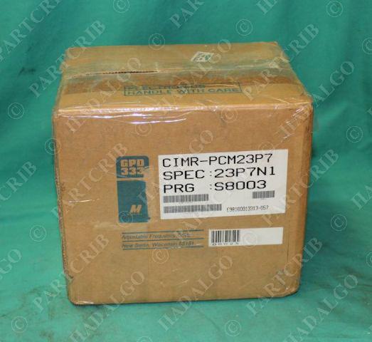 Magnetek, DS025, GPD 333, CIMR-PCM23P7, Adjustable Frequency Drive VFD NEW