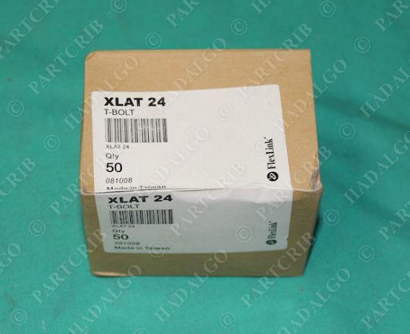 FlexLink, XLAT-24, T-Bolt Box of 50 NEW