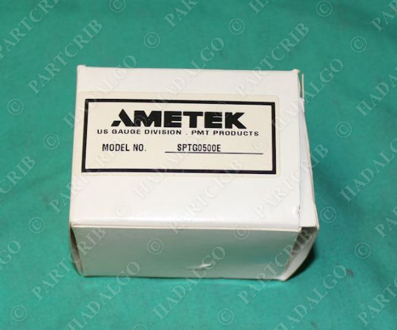 Ametek, SPTG0500E, Wesco Pressure Transducer 0-500psig NEW