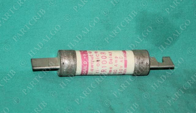 Gould Shawmut, TR100R, TR-100-R, Tri-Onics Time Delay Fuse 100A 100 Amp