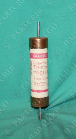 Gould, TRS150R, Shawmut Tri-onic Fuse 150 Amp 150a 600V