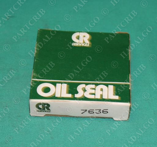 Chicago Rawhide, 7636, CRW 1, Oil Seal