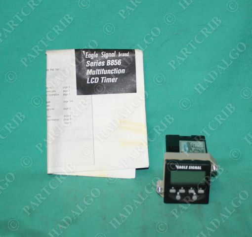 Eagle Signal, B856-500, LCD Digital Timer Multi Fuctional Danaher 24VDC