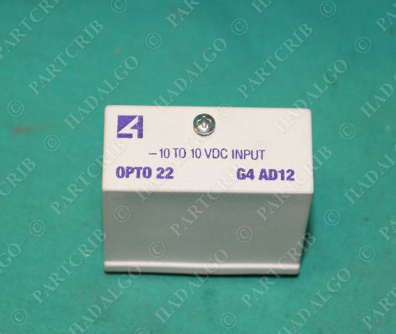 Opto 22, G4 AD12, Solid State Relay -10 to10VDC Input SSR