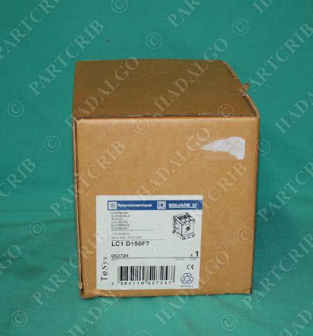Telemecanique, LC1 D150F7, LC1-D150F7, Contactor  NEW