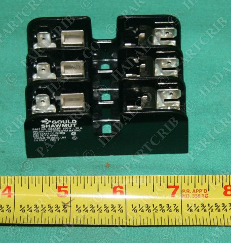 Gould Shawmut 30323R Fuse Block holder R type NEW