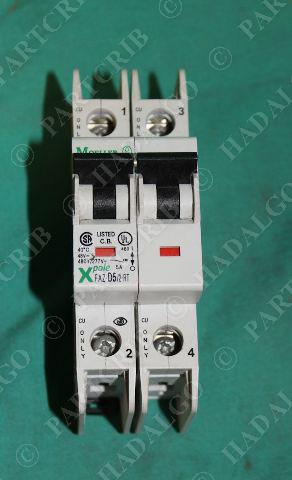 Moeller, FAZ-D5/2-RT, XPole Circuit Breaker