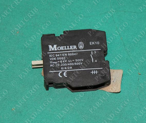 Klockner Moeller, EK-10, Contact Block Electric Contactor Push Button Switch Eaton