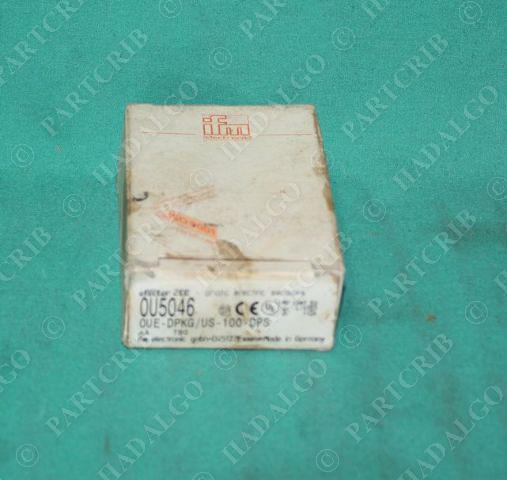IFM, OUE-DPKG/US-100-DPS, OU5046, 0U5046,  Efector Photoelectric Sensor