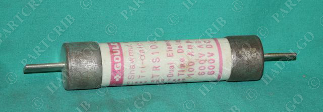 Gould Shawmut, TRS100, Tri-onic Fuse Time Delay 100A 600V