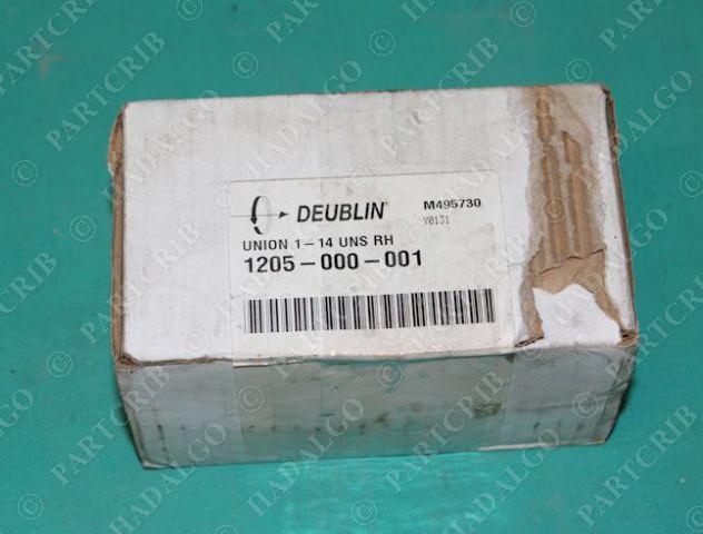 "Deublin, 1205-000-001, Monoflow Rotary Union 1""-14 UNS RH NEW"