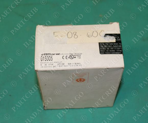 IFM, G15005, Efector Evaluation Unit Category 4 w/ Safety Relay Output