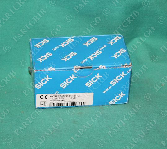 Sick, WTB27-3P2411S12, 1028206, Proximity Sensor Switch