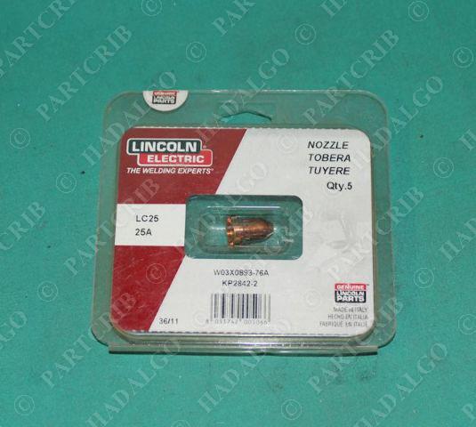 Lincoln, LC25, KP2842-2, Nozzle 25A
